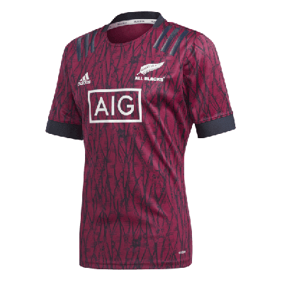 adidas all blacks rugby prime blue training jersey