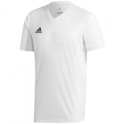 adidas all white soccer jersey