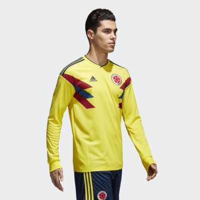 adidas colombia home long sleeve jersey byello