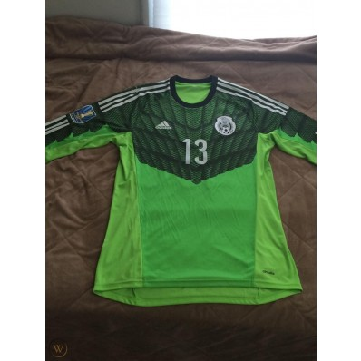 adidas goalkeeper jersey mexico the green one