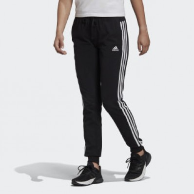 adidas jersey pants with stripes