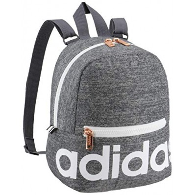 adidas linear mini backpack jersey onix/ white/ rose gold one size