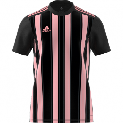 adidas pink and black jersey