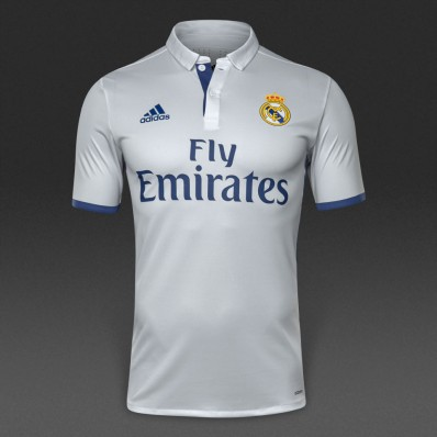 adidas real madrid home 16/17 authentic crywht/rawpur jersey