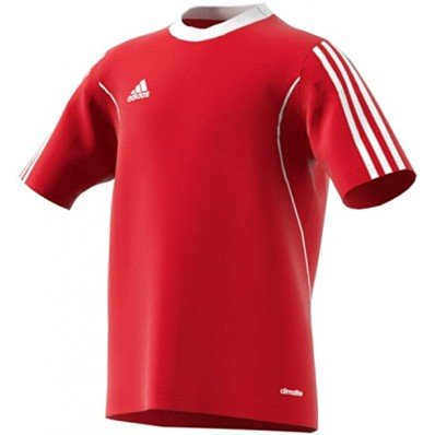 adidas red youth soccer jersey