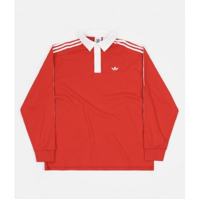 adidas rugby jersey red
