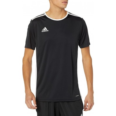 adidas soccer jersey black and grey
