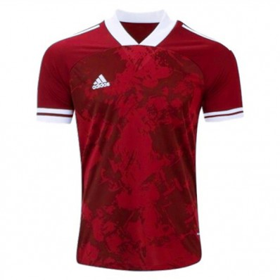 adidas soccer red jersey