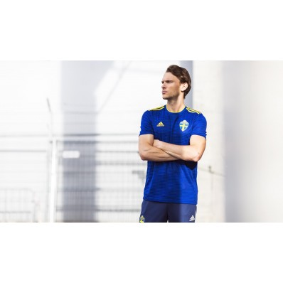 adidas sweden home jersey- world cup russia 2018