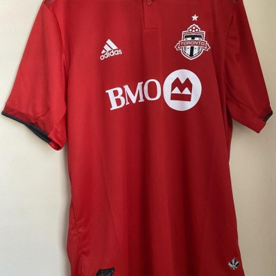 adidas toronto fc home authentic jersey-men's soccer