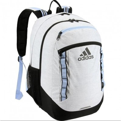 adidas white jersey backpack