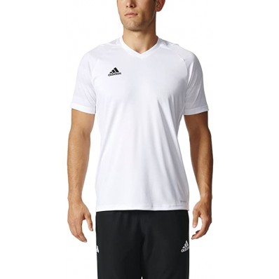 adidas white mens soccer jersey