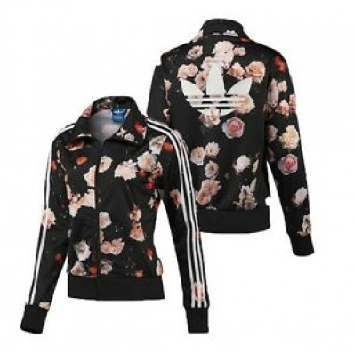 adidas womens floral jersey tracksuit