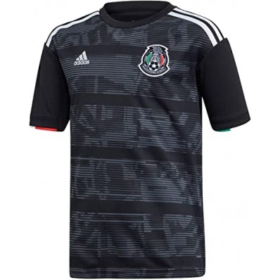 adidas youth black soccer jersey