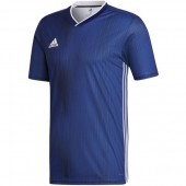 blue youth adidas soccer jersey